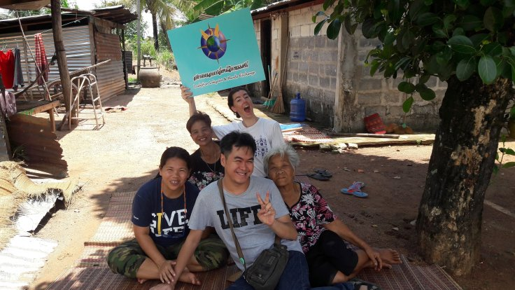 Mundo Exchange, Laekplian Lokgatat, Adopt an Elder in Thailand